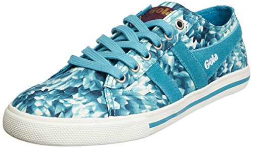 Gola Women's Jasmine Liberty VN CLA005 Fashion Sneaker, Teal, 8 M US