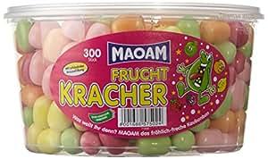 Haribo Maoam Frucht Kracher, Dose, 300 Stück, 1200g