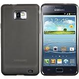 mumbi TPU Schutzh�lle Samsung Galaxy S2 Plus i9105P H�lle transparent schwarz