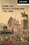 img - for Crime and Society in England, 1750-1900 book / textbook / text book