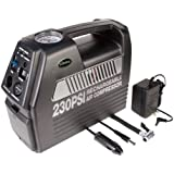 Slime COMP 07 Rechargeable 12-Volt Tire Inflator