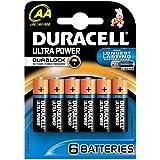 Duracell - Pile Alcaline - Duralock AAx6 Ultra Power (LR6)