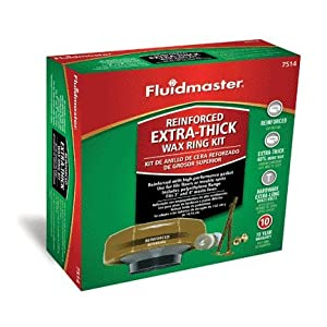 Fluidmaster 7514 Reinforced Extra-thick Wax Ring Kit