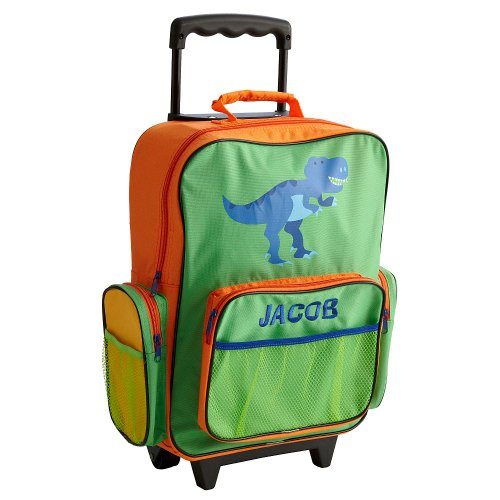 dinosaur backpacks for kids  Personalized Rolling Backpack ... 351dce7b53cd1