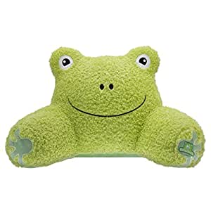Relaximals Frog Kids Reading Pillow -