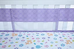 Little Love by NoJo Adorable Orchard Crib Liner, Multi-Colored