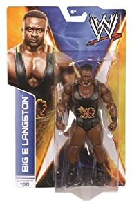 WWE Series #36 Big E Langston Action Figure from Mattel