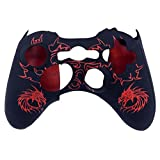 BRH Protective Skin Case Cover Soft Silicone for Xbox 360 Controller (Red)