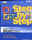 img - for Microsoft  Office Word 2003 Step by Step book / textbook / text book