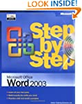 Word 2003 Step by Step Book/CD Packag...