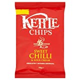 KETTLE® Chips Sweet Chilli & Sour Cream 40g Price Marked 59p (Pack of 18)