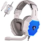 SADES A70 7.1 USB Surround Sound Stereo PC Gaming Headsets Headband Headphones With Microphone Volume Control...