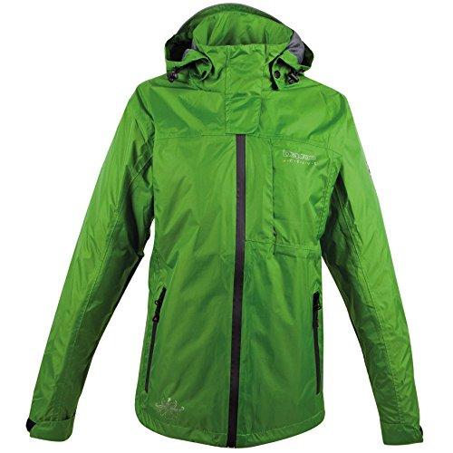 Deproc Finlay Regenjacke für Damen (Übergrößen), grün, 50