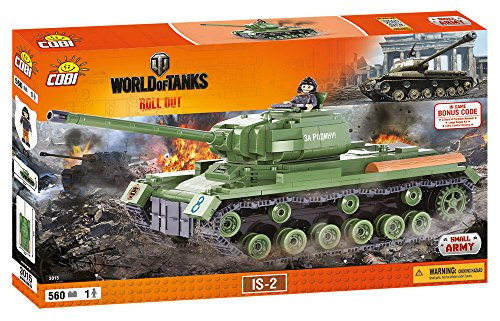 World of Tanks /3015/ Heavy Tank IS 2, 560 building bricks by Cobi (Is Tank compare prices)