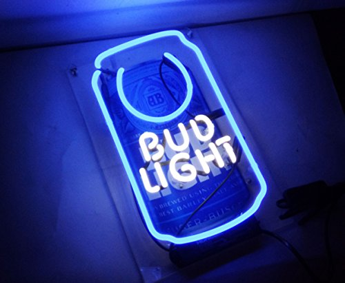 Cool Beer Neon Sign Bud Light Business Neon Light Sculpture for Bar Pub Hotel Beach Cocktail Recreational Game Room Decor 13