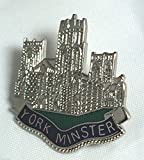 York Minster Cathedral City Pin Badge
