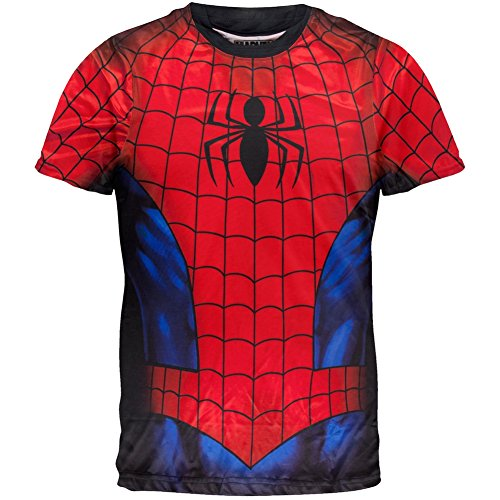 Spider-Man - Spidey Shaba Sublimation Costume T-Shirt