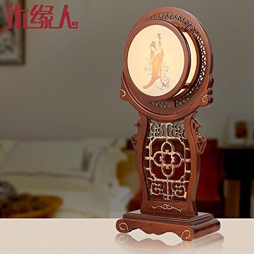 FDH Nuovo stile Cinese e lampade faux-classico e lampade creative real scolpito moda ristorante accogliente salotto lampada lampada al posto letto camera da letto