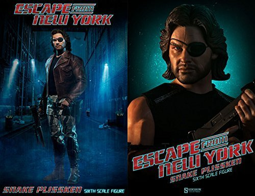 """Sideshow Escape from New York Snake Plissken 1/6 Scale 12"""" Action Figure"""