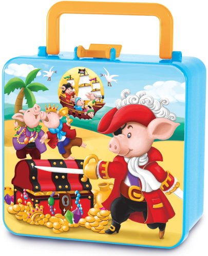 Piggy Story Piggy Pirates Double Decker Bento Box - 1