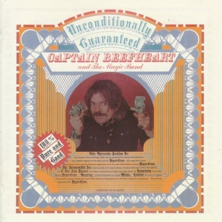 CAPTAIN BEEFHEART & HIS MAGIC BAND - UNCONDITIONALLY GUARANTEED - LP