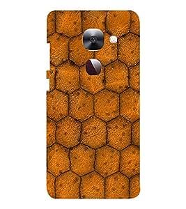 EPICCASE honeycomb Mobile Back Case Cover For LeEco Le Max2 (Designer Case)