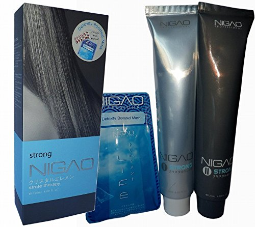 Nigao Japanese IDA Cyrstal System Hair Straightening Cream STRONG