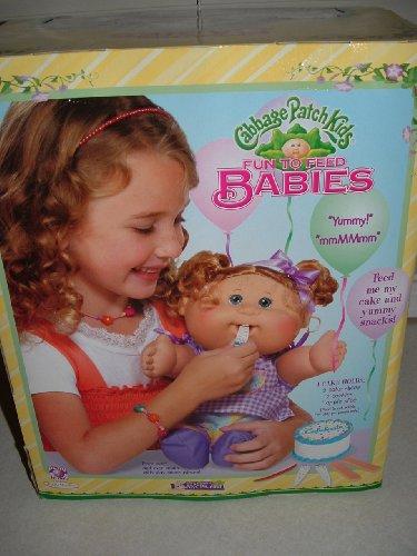 Fun to Feed Babies~ Cabbage Patch Kids ~ Arturo Dano born January 17th ...