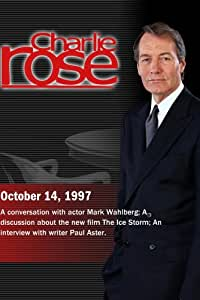 Charlie Rose with Mark Wahlberg; Ang Lee, Rick Moody & James Schamus; Paul Aster (October 14, 1997)