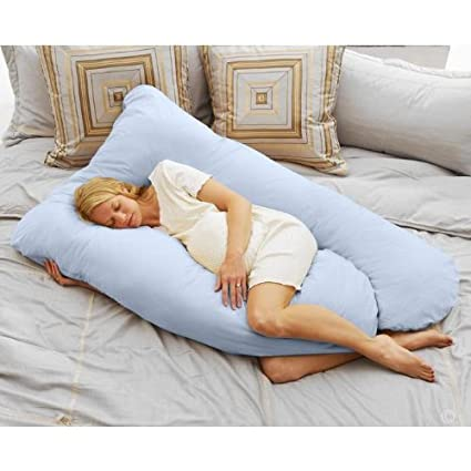 Todays Mom Cozy Comfort Pregnancy Pillow – Sky Blue $69.99