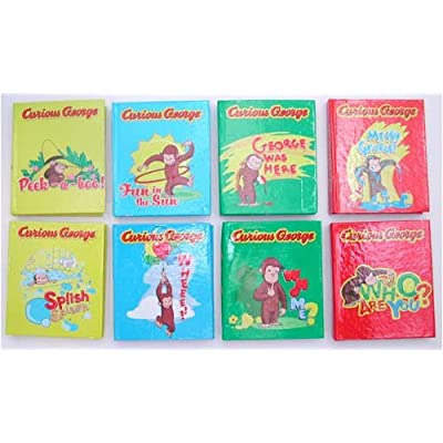 Amazon.com : Curious George Mini Book Notepads : Other Products