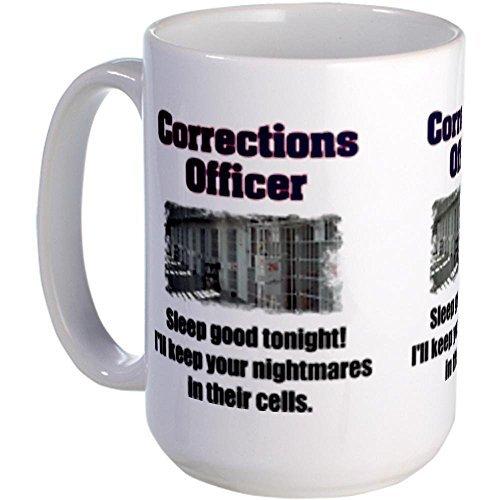 Demon Decal Corrections Officer Mug Large Mug - Standard Multi-color 12.95