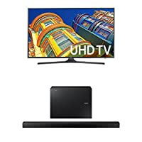 Samsung UN70KU6300 70-Inch TV with HW-K550 Soundbar