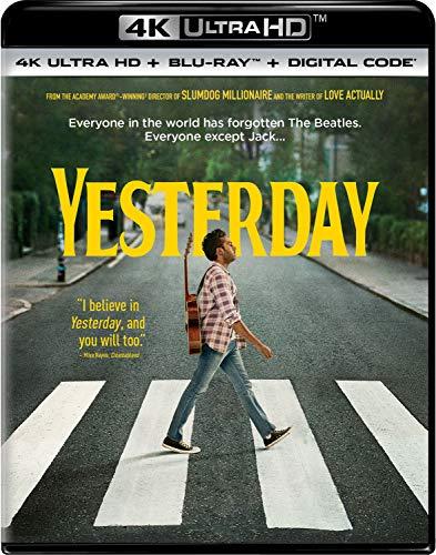 4K Blu-ray : Yesterday (2 Discos)