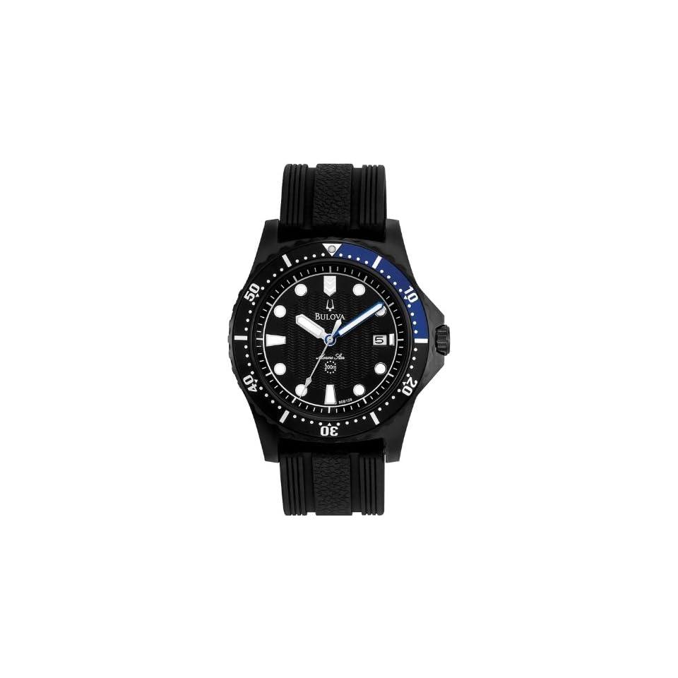 Bulova 98B159 Mens Marine Star Black Watch Watches