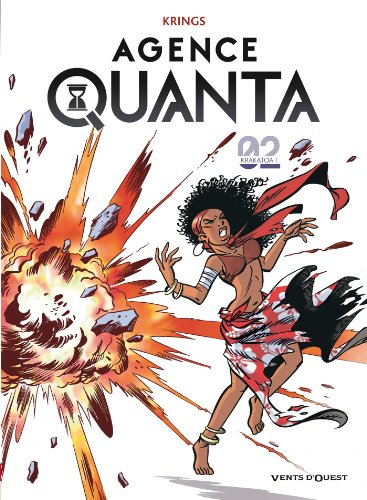 Jean-marc Krings - Agence Quanta Tome 2:Krakatoa !