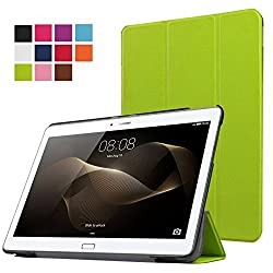 Huawei MediaPad M2 10.1 Case,Xindayi Ultra Slim Tri-Fold Leather Case Stand Cover for 10.1