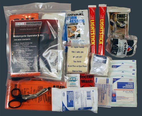 Motorcycle Operator First Aid Kit by Rescue Essentials