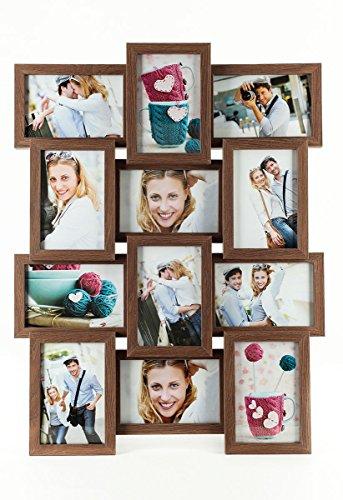 levandeo-holz-bilderrahmen-farbe-nussbaum-braun-hochwertig-verarbeitet-fur-12-fotos-10x15cm-mit-glas