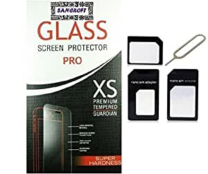 Asus Zenfone 3 Curved Tempered Glass with Sim Adapter