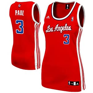 NBA adidas Chris Paul Los Angeles Clippers Ladies Replica Jersey - Red by adidas
