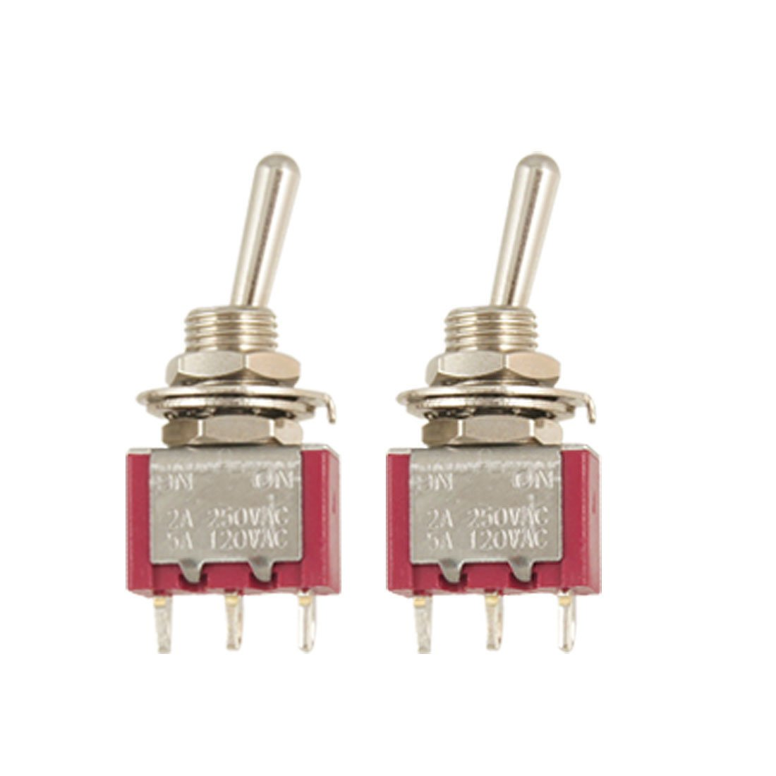 2-pcs-single-pole-double-throw-onon-toggle-switch-ac-250v2a-125v5a