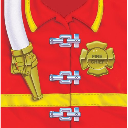Creative Converting Firefighter 16 Count 3-Ply Paper Lunch Napkins (Fire Engine Party Supplies compare prices)