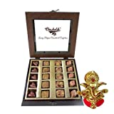 Chocholik - Special Belgium Chocolates Collection With Ganesha Idol - Diwali Gifts