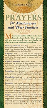 Prayers for Missionaries and Their Families 50-pack
