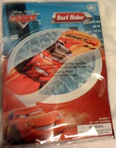 Disney Pixar Cars Lightning McQueen Inflatable Surf Rider - 1