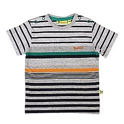 Buzzy Baby-Boys' Cotton T-Shirt (Green,6-9M)