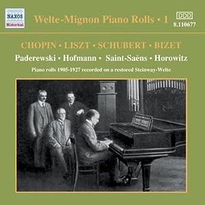Welte-Mignon Piano Rolls