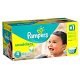 Pampers Swaddlers Disposable Diapers Size 4, 104 Count, GIANT
