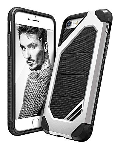 Custodia iPhone 7, Ringke [Max] Avanzata Dual Layer Heavy Duty Protection [assorbimento di scossa Tecnologia] Elegante Forza armatura resistente coperchio di protezione per Apple iPhone 7 2016 - Silver